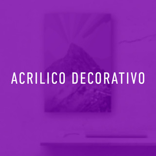 acrilico decorativo