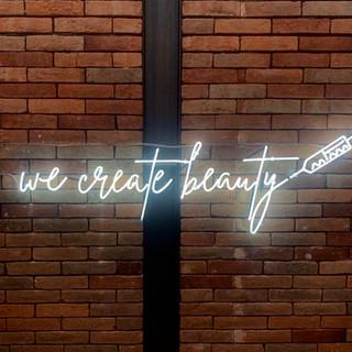 Neon de VIdrio We Create beauty