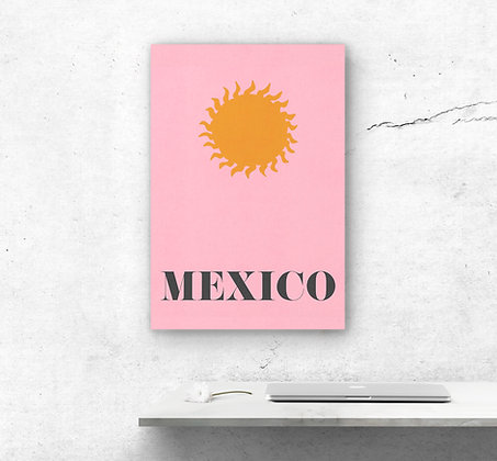 CANVAS MEXICO SUN
