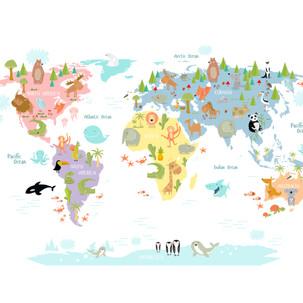 Animals Mapa Mundi