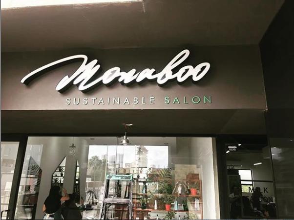 Letrero Exterior para Monaboo