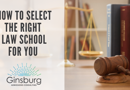HOW TO SELECT THE RIGHT LAW SCHOOL FOR YOU
