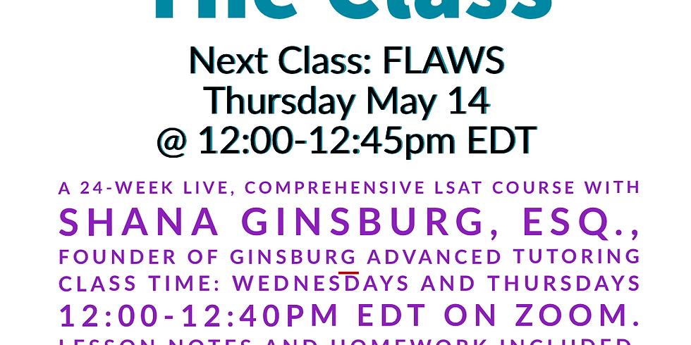 Class 18: Flaws