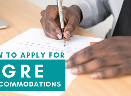 How to apply for GRE Accommodations