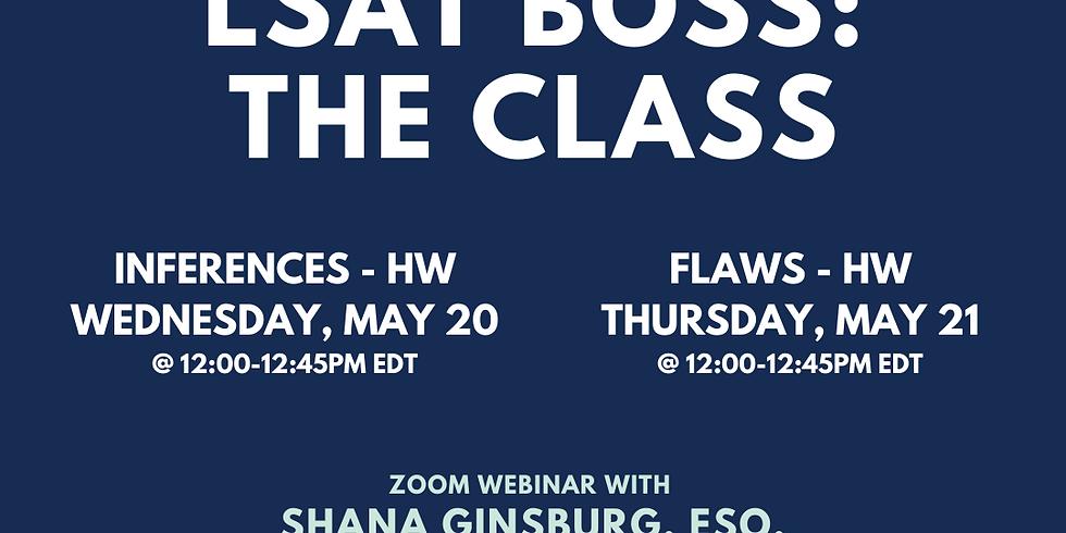 LSAT BOSS: FLAWS - HW