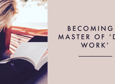 """Become a Master at """"Deep Work"""""""