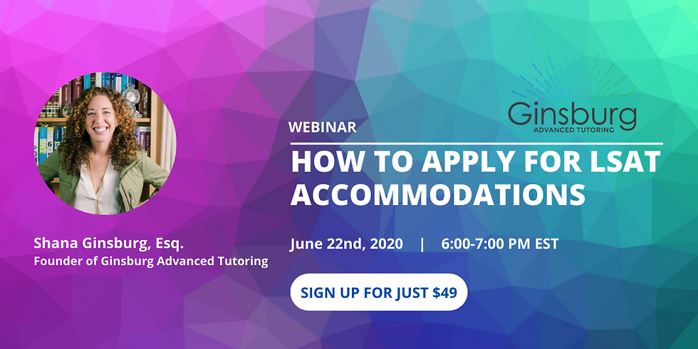 How To Apply For LSAT Accommodations