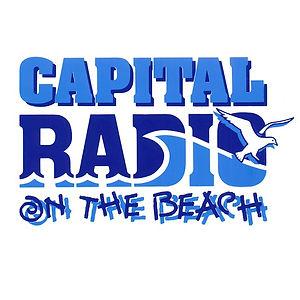 Capital Radio on the beach
