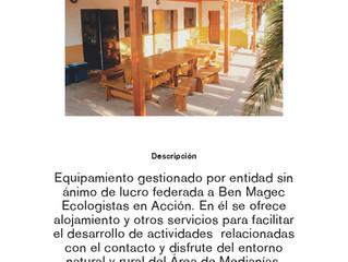 Guía de Equipamientos Ambientales e Instalaciones de Tiempo Libre de Santa Lucía.