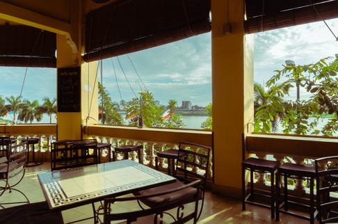 The Correspondents Club in Phnom Penh, Cambodia.