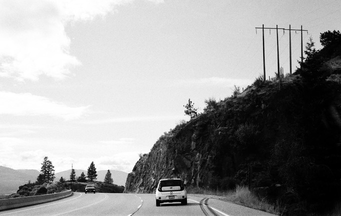 On the way to Penticton.