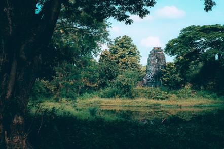 Rural Cambodia.