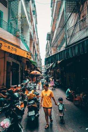 Streets of Phomn Penh.