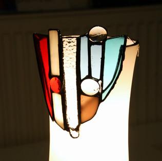 šmrncovní oprava rozbité lampičky