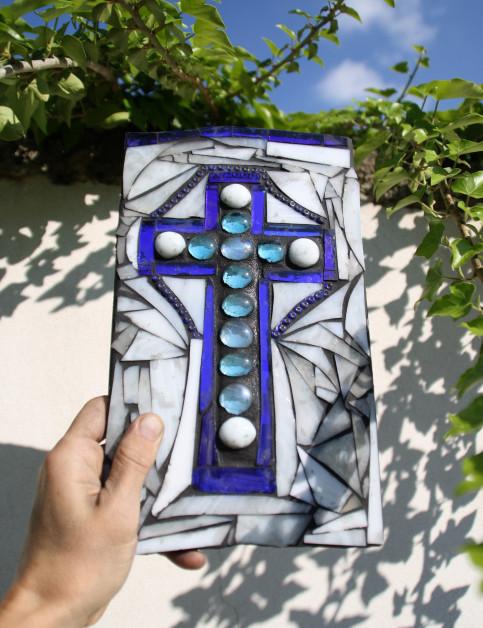 mozaikový kříž