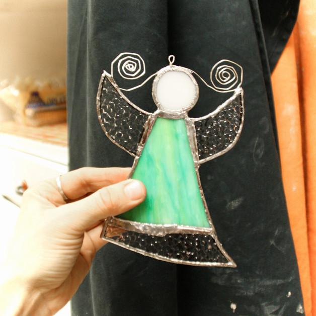 Tiffany andílek