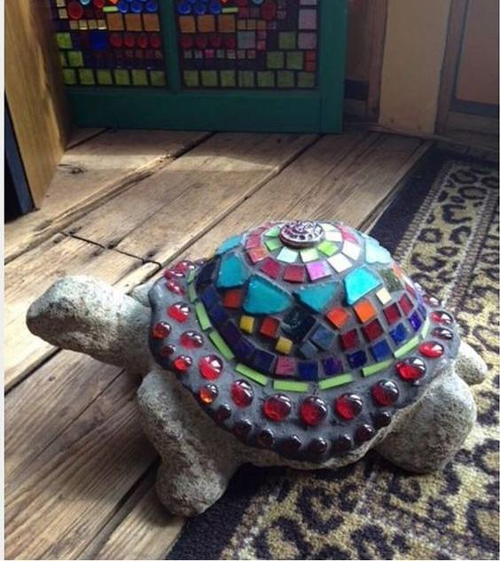 želva s mozaikou 1