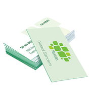 Example of printed products - Business Cards