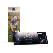Example of printed products - Event Tickets
