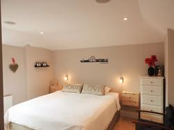 Master bedroom med Super King seng