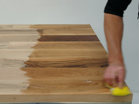Onderhoud van geolied hout