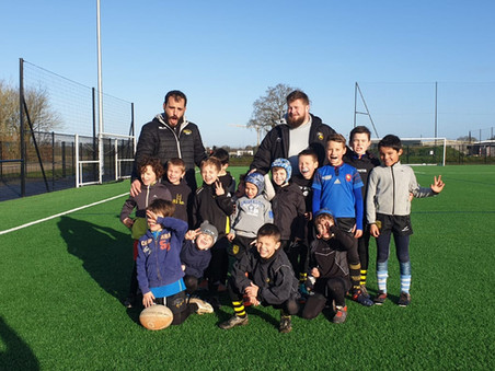 Stages hiver Ecole de Rugby