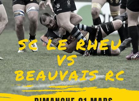 Dimanche 1er mars LE RHEU-BEAUVAIS