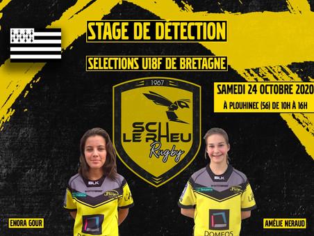 Sélections U18F de Bretagne