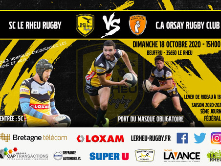 SC le Rheu Rugby / C.A Orsay Rugby