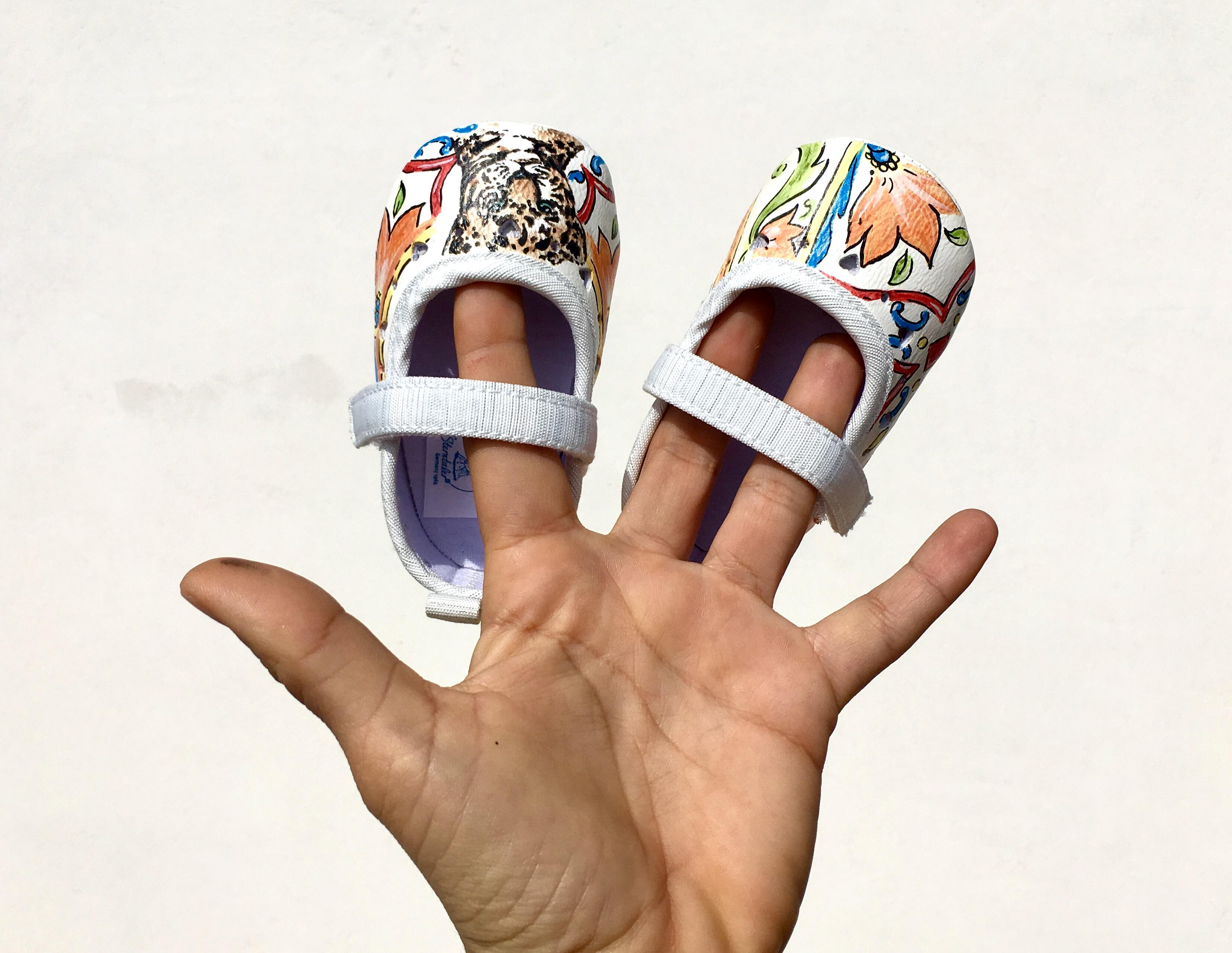 scarpe ballerine da bambina