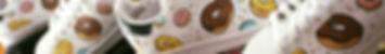 Scarpe personalizzate in serie con ciambelle