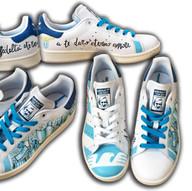 Adidas Lazio personalizzate su quattro lati e punta
