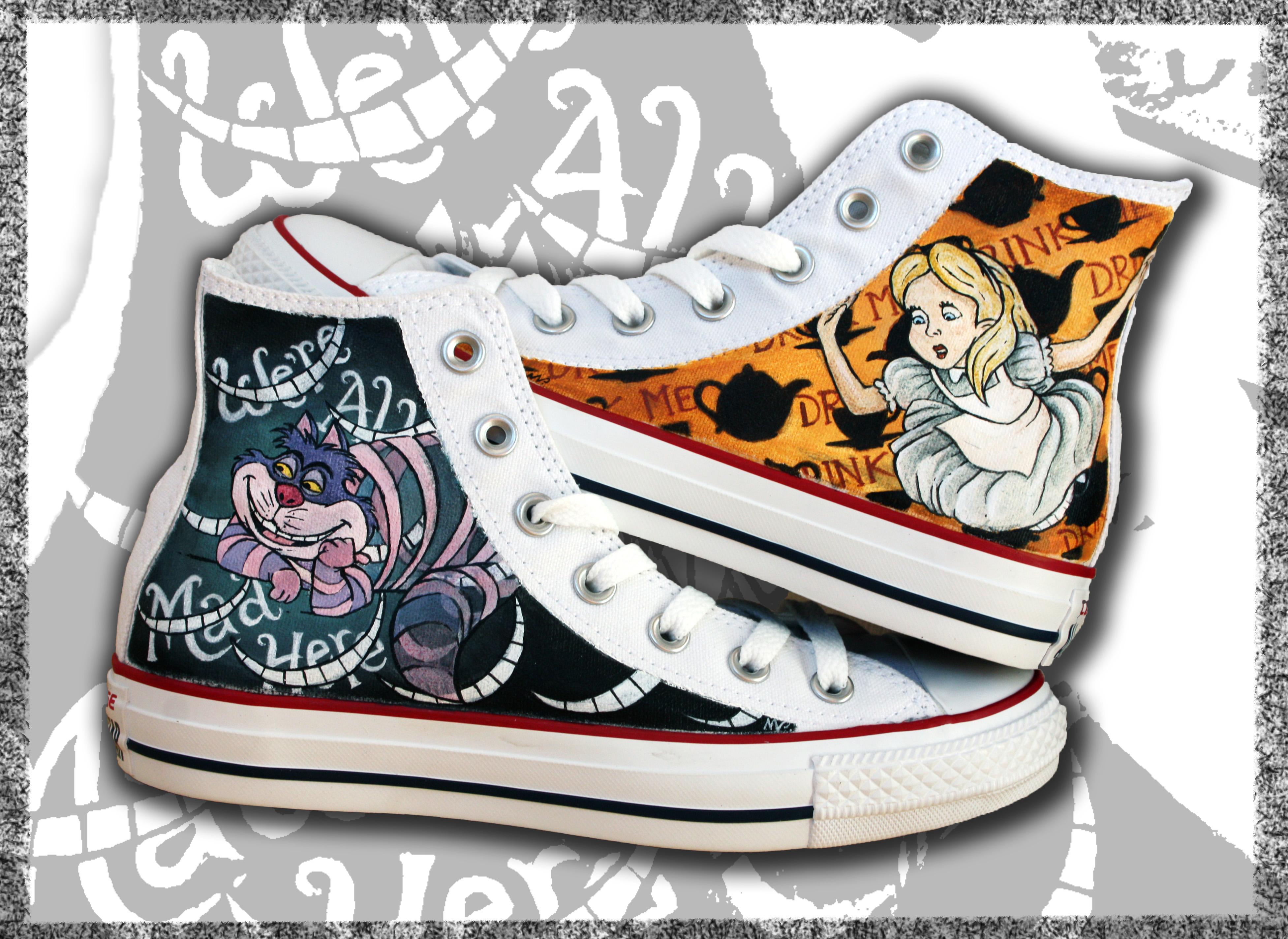 all star alte dipinte con Alice