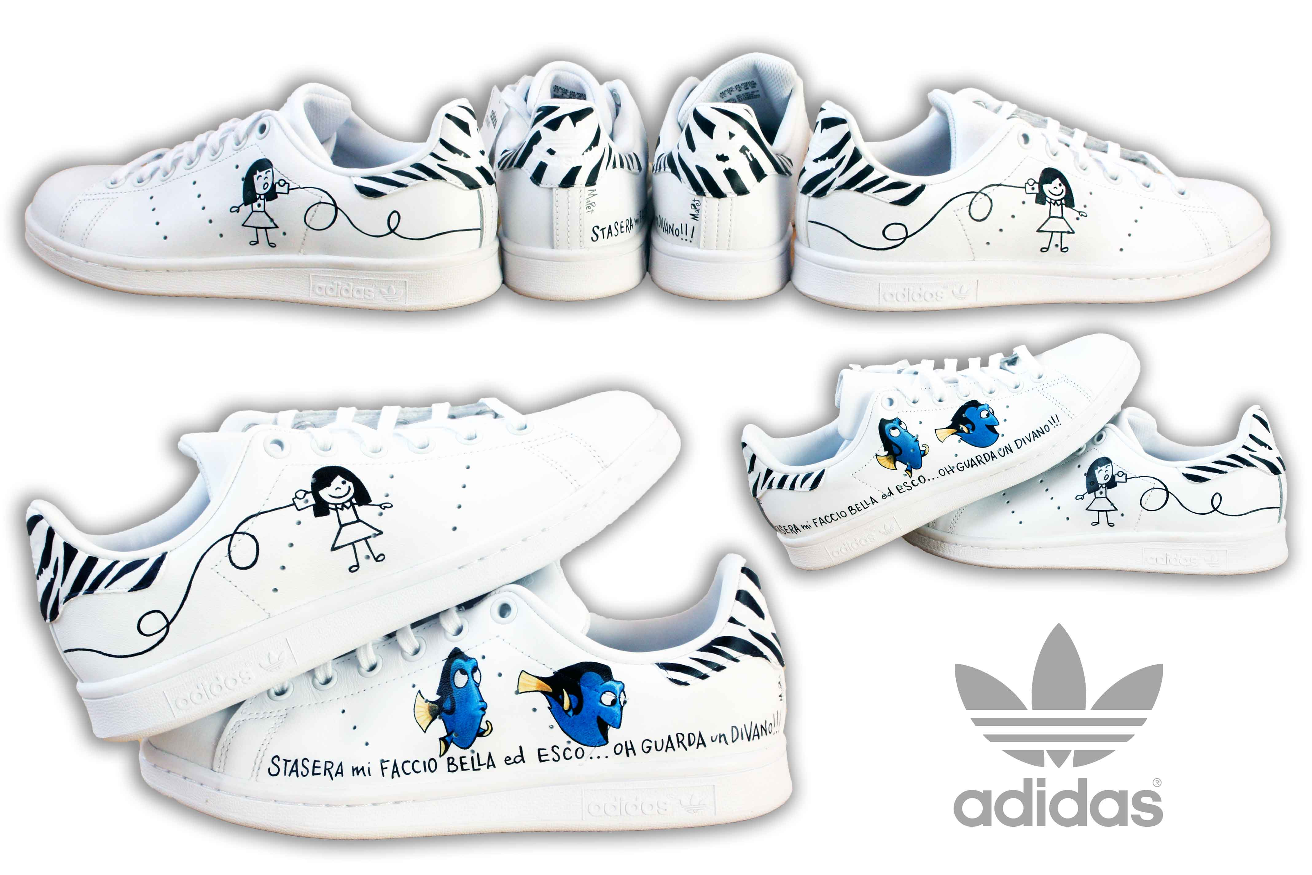 check out df4c9 decd5 Adidas Stan Smith personalizzate