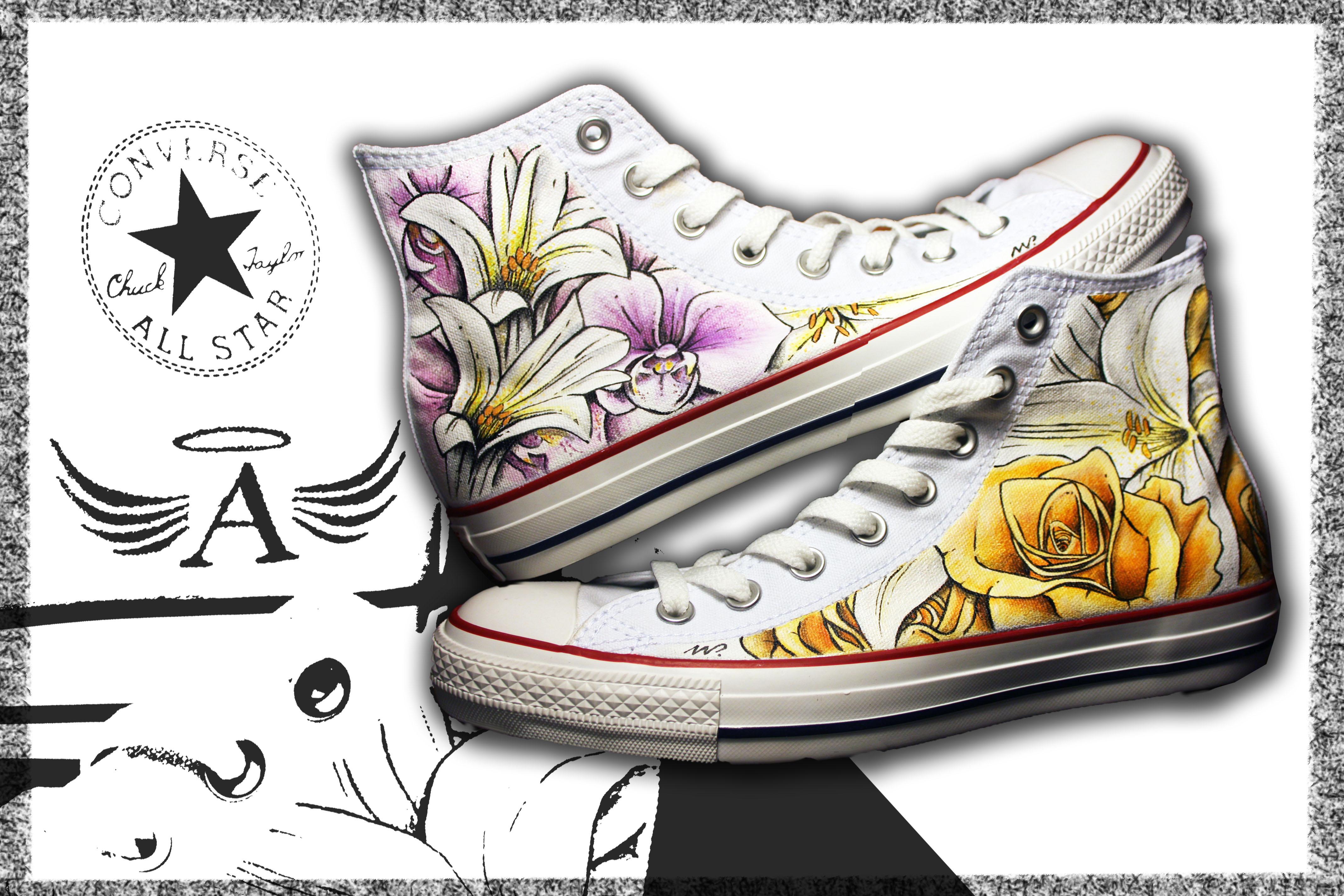 scarpe alte converse