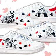 Adidas Alice dipinte su quattro lati