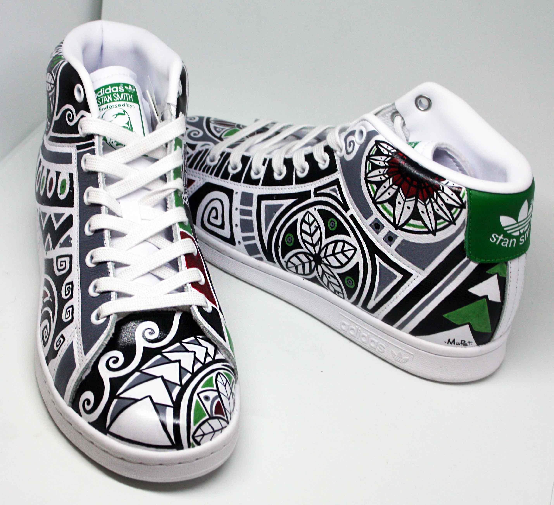 Scarpe Adidas Stan Smith Personalizzate con Disegni e