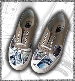 scarpe vans authentic personalizzate