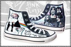 scarpe personalizzate Pink Floyd