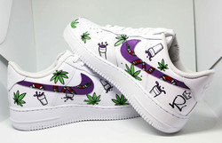Nike air force one dipinto a mano