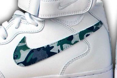 baffo Nike camouflage