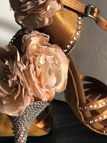 sandalo sposa con fiori