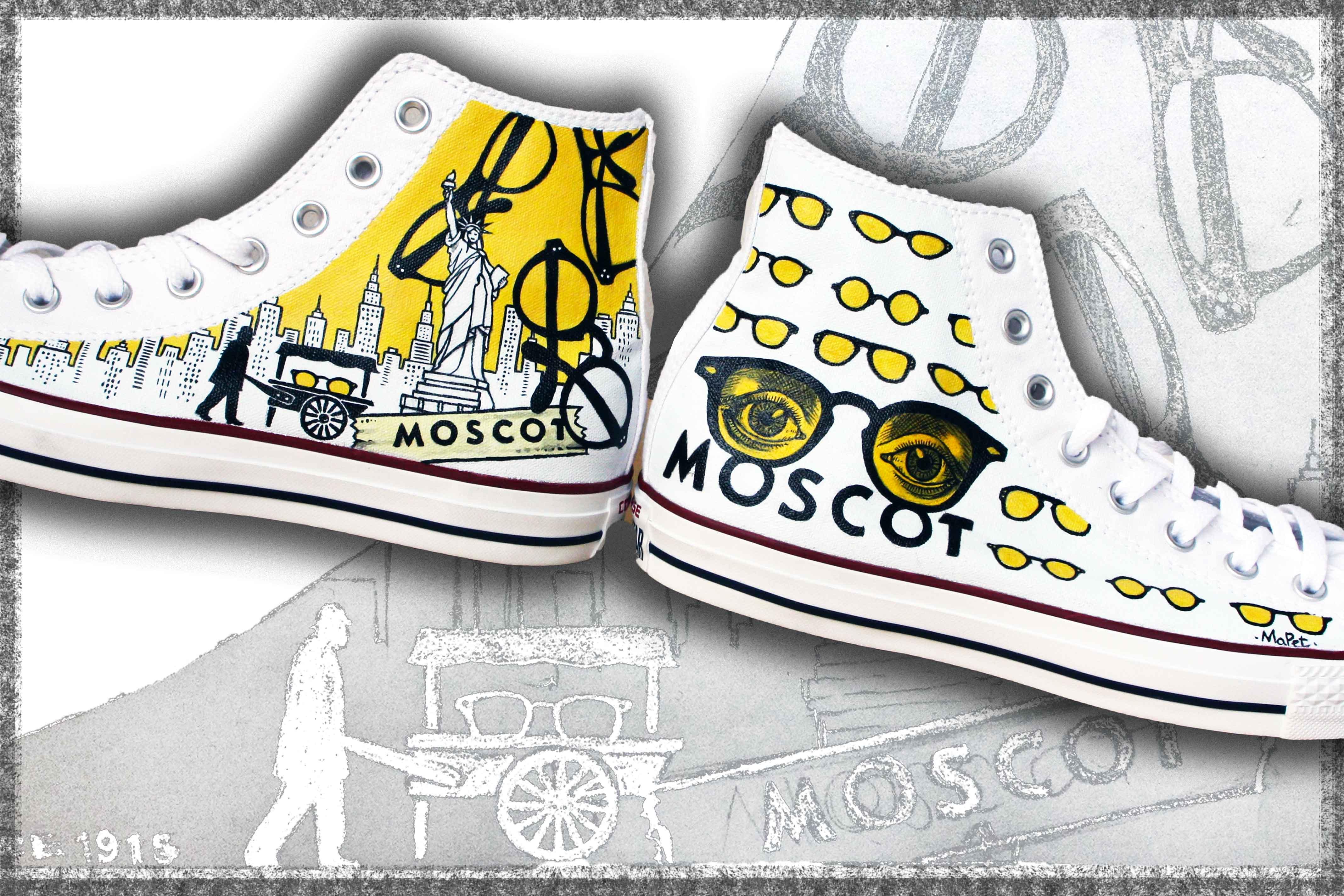 converse Moscot personalizzate