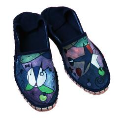 scarpe in tela personalizzate