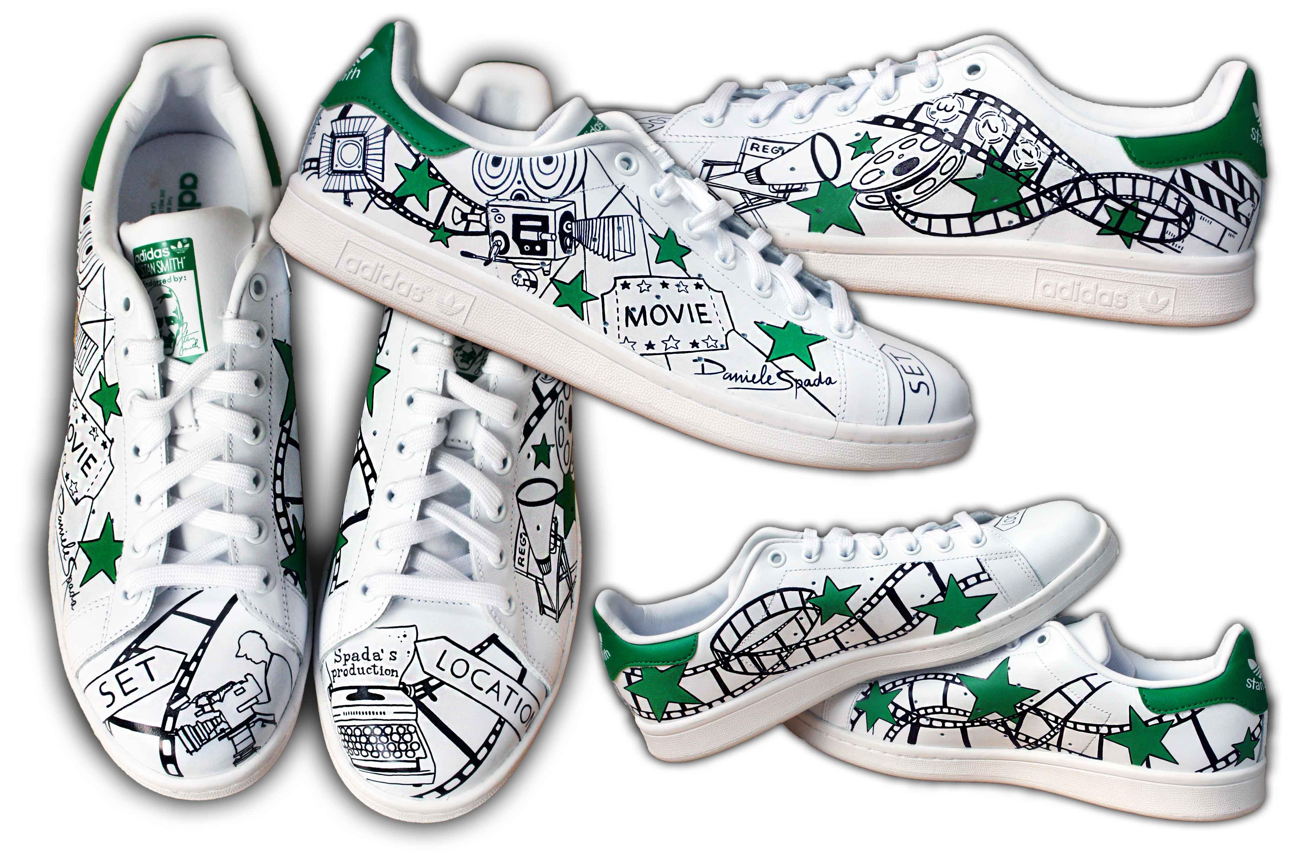 scarpe adidas personalizzate con nome