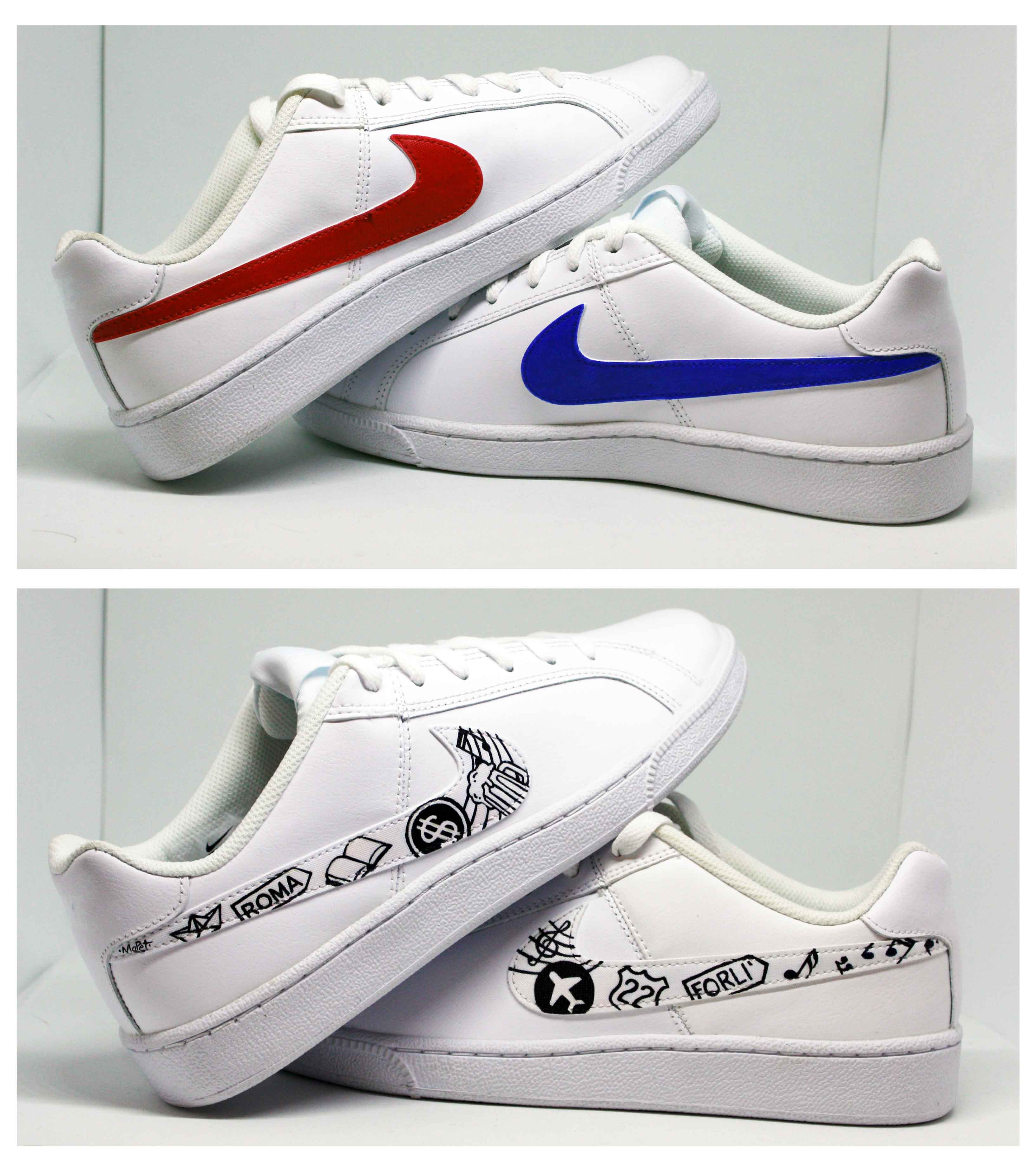 air force 1 donna con disegni