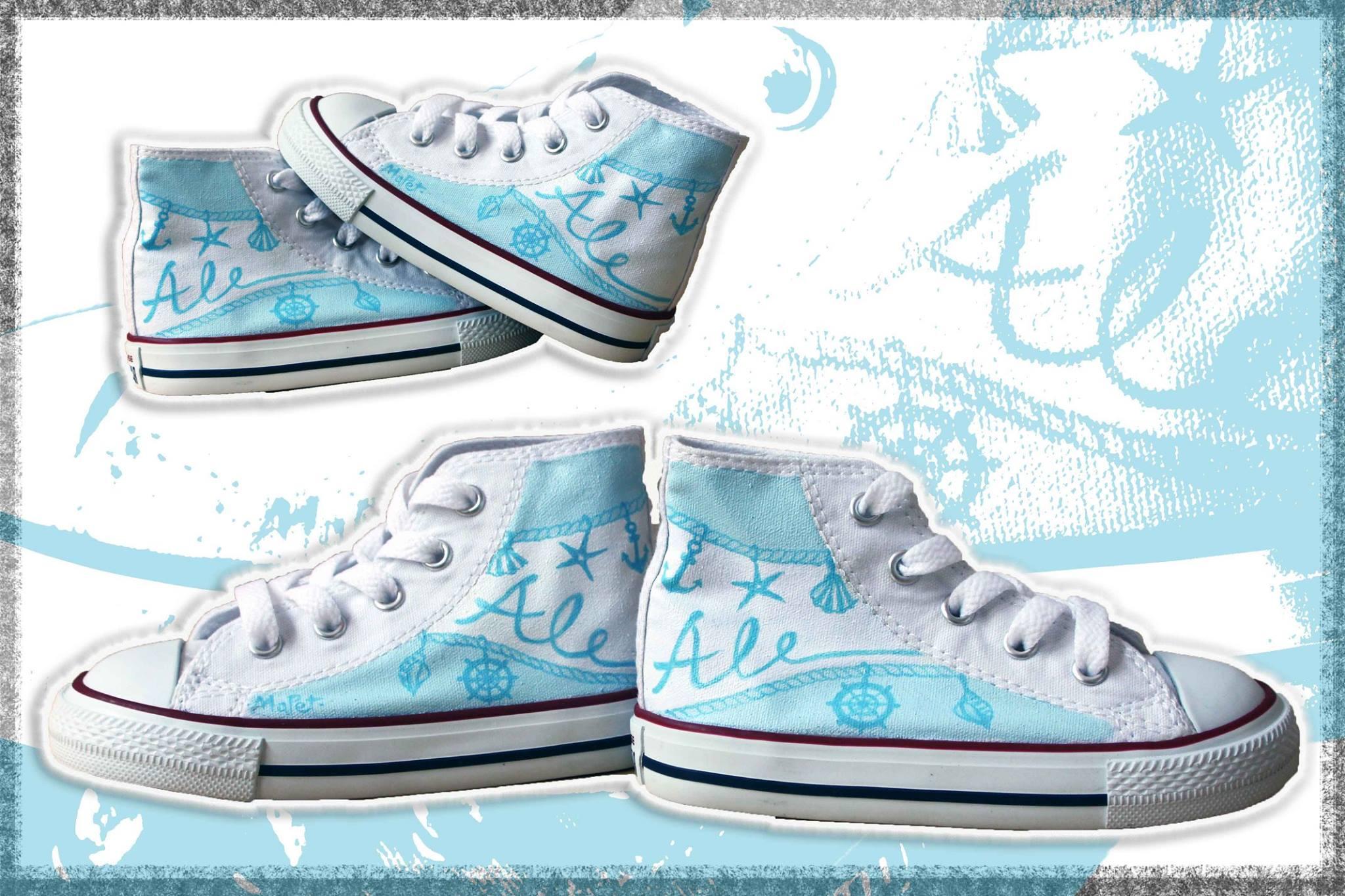 scarpe bebè personalizzate