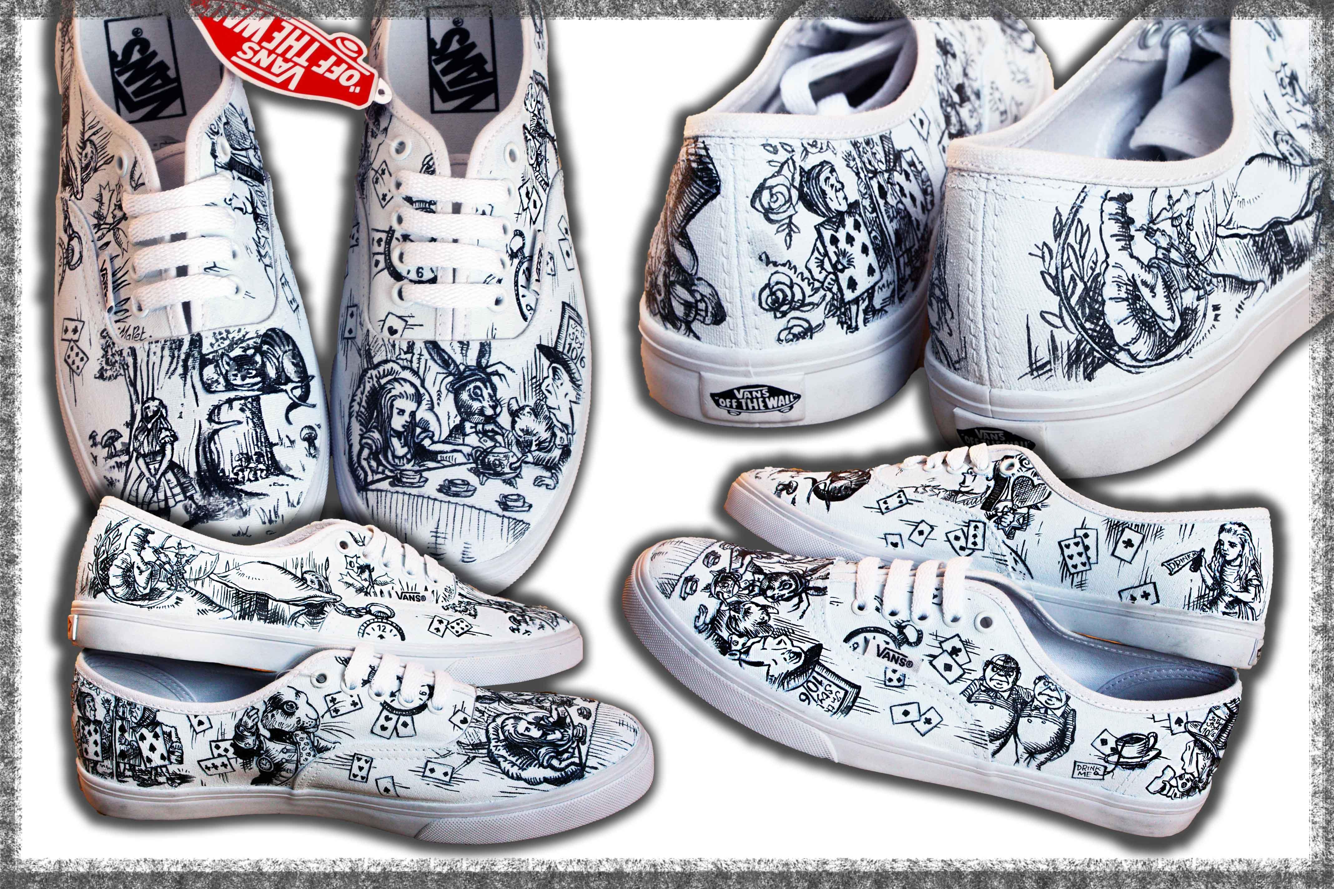 scarpe vans autentic personalizzate