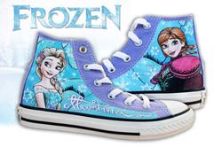 converse bambina Frozen