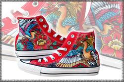 scarpe rosse personalizzate